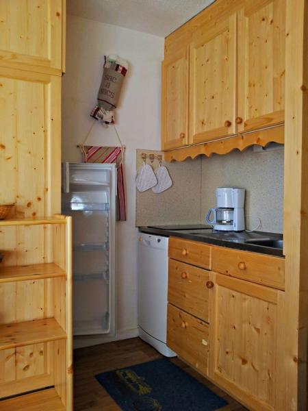 Kitchenette Location Studio apartment 1615 Les Menuires
