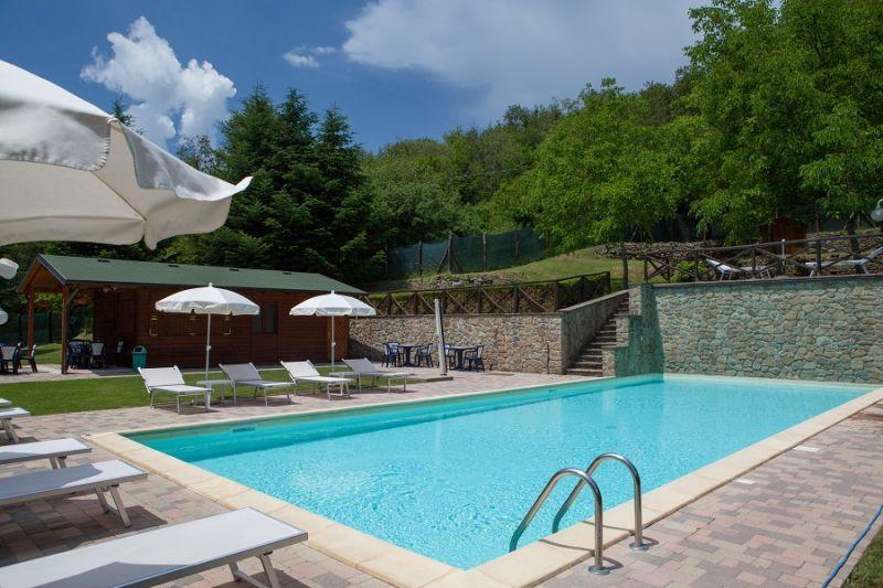 Swimming pool Location Apartment 16737 Bibbiena