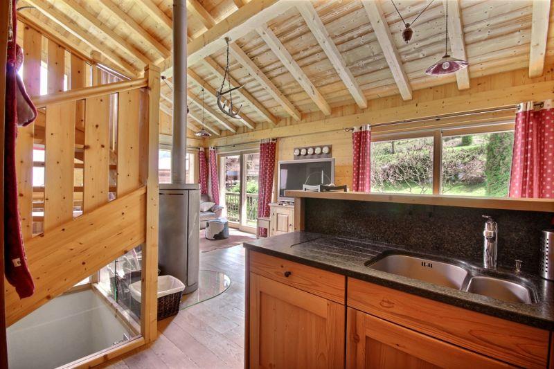 Open-plan kitchen Location Chalet 17372 Saint Jean d'Aulps- La Grande Terche