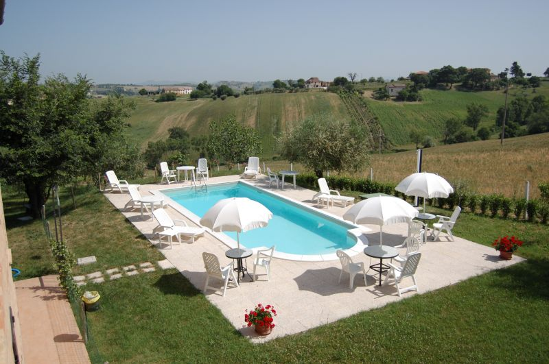 Swimming pool Location Self-catering property 17670 Macerata
