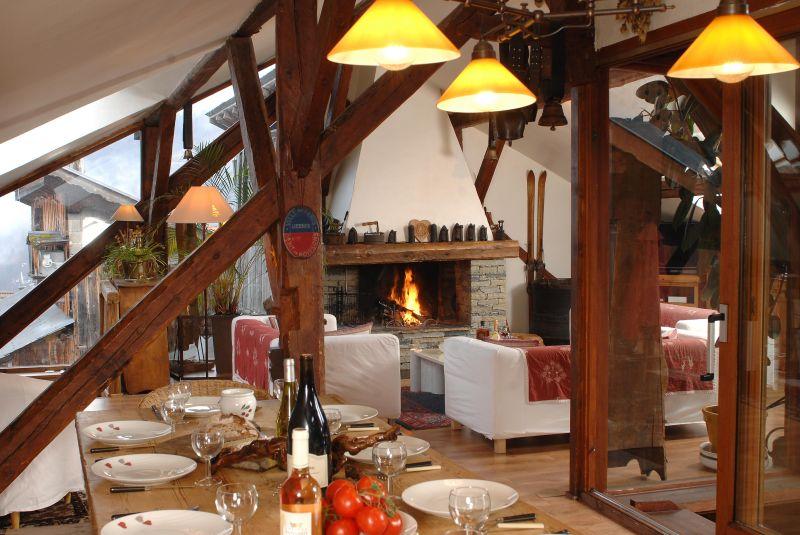Dining room Location Chalet 1841 Méribel