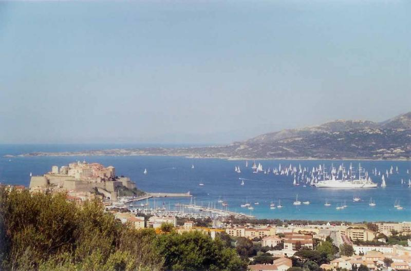 View from the property Location Studio apartment 18614 Calvi