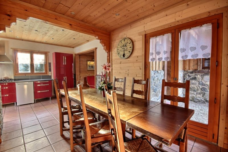 Dining room Location Chalet 1962 Morzine