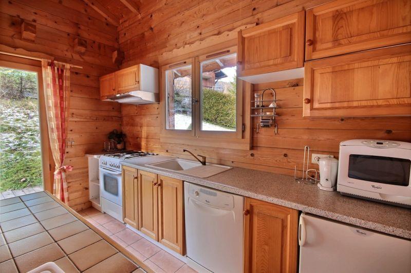 Open-plan kitchen Location Chalet 21894 Morzine