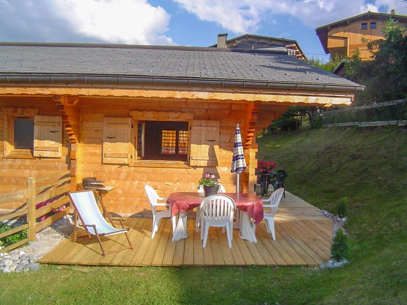 Terrace Location Chalet 21894 Morzine