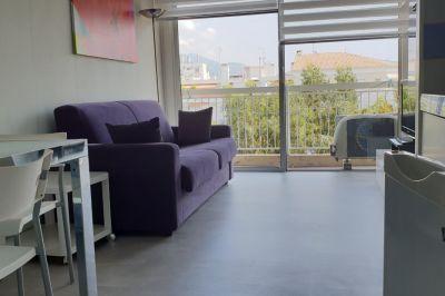 Sitting room Location Studio apartment 21996 Nice