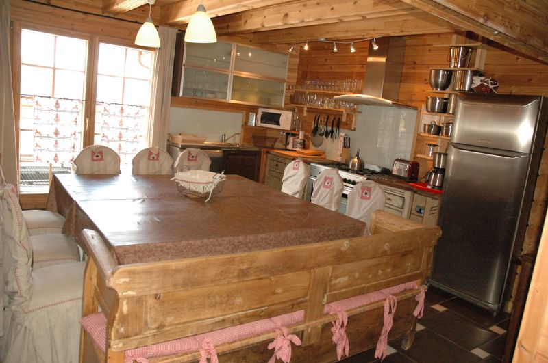 Open-plan kitchen Location Chalet 2248 La Plagne