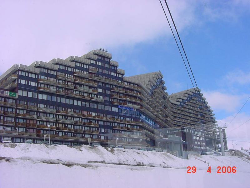 Outside view Location Studio apartment 2252 La Plagne