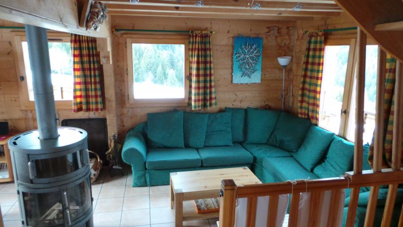 Sitting room Location Chalet 2379 Praz de Lys Sommand