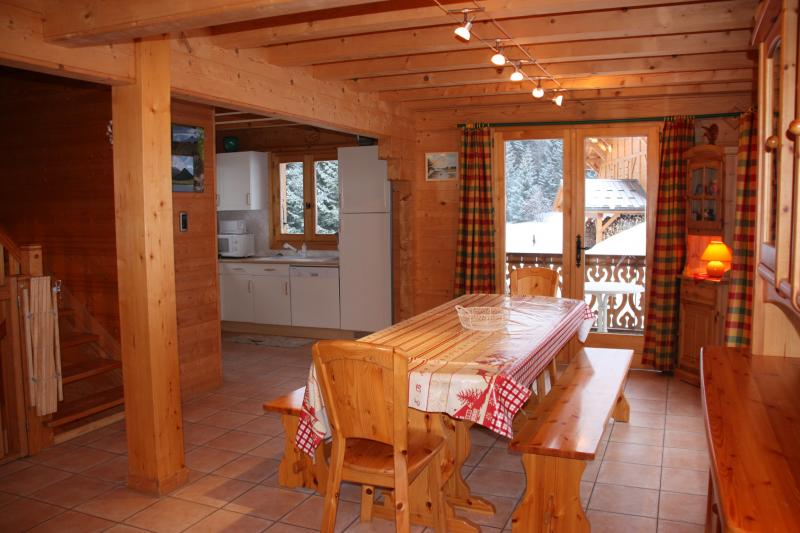 Dining room Location Chalet 2379 Praz de Lys Sommand