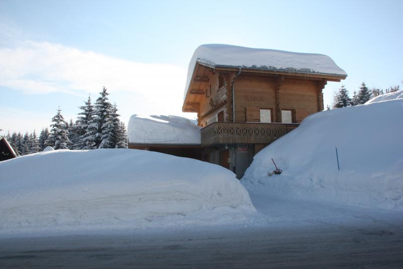 Outside view Location Chalet 2379 Praz de Lys Sommand