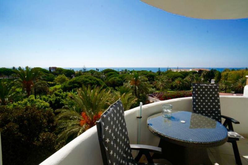 View from the balcony Location Apartment 24206 Marbella