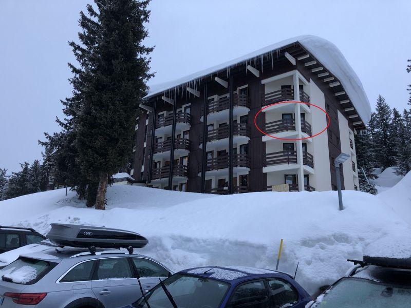 Outside view Location Studio apartment 2464 La Rosière 1850