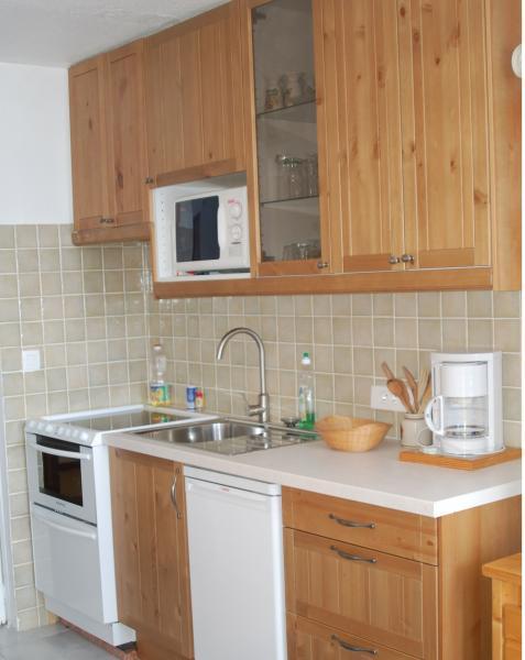 Kitchenette Location Studio apartment 2464 La Rosière 1850