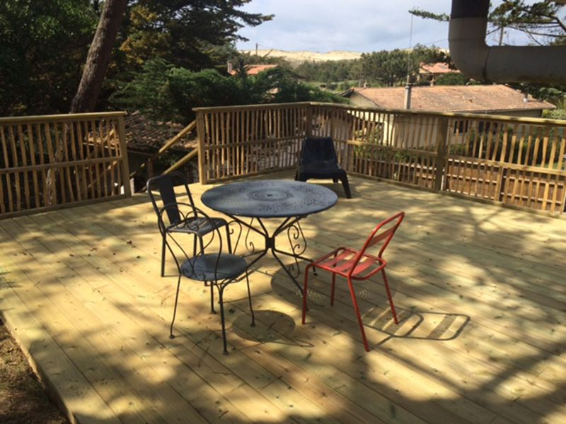 Terrace Location Villa 25030 Cap Ferret