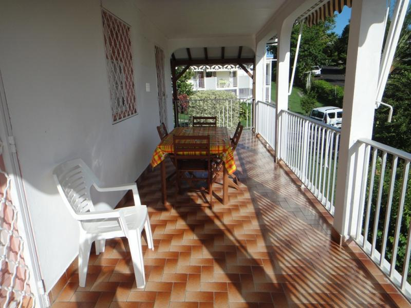 View from the balcony Location Apartment 25506 Gosier (Guadeloupe)