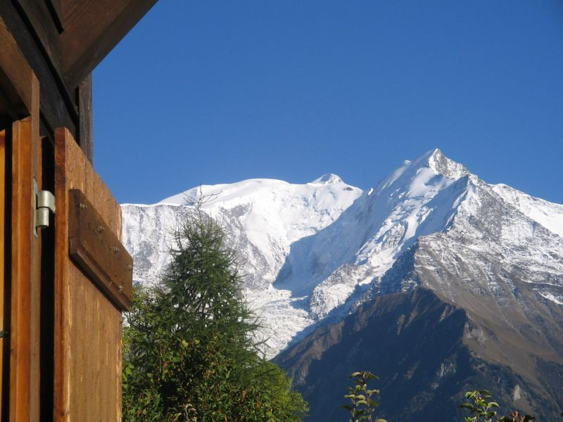 View from the property Location Chalet 2585 Saint Gervais Mont-Blanc