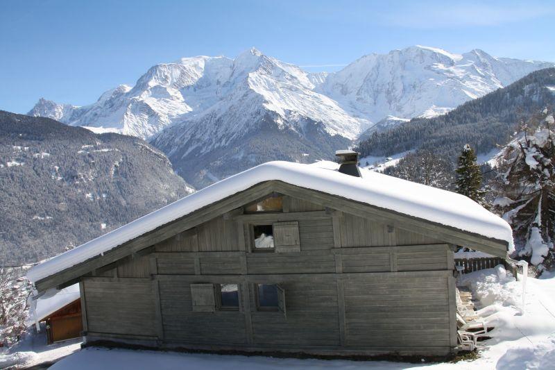 Outside view Location Chalet 2585 Saint Gervais Mont-Blanc