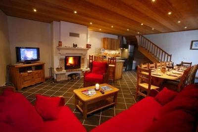 Living room Location Flat 26150 Valloire