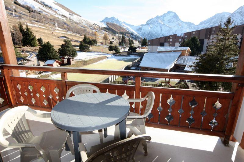 Balcony 1 Location Apartment 26960 Les 2 Alpes
