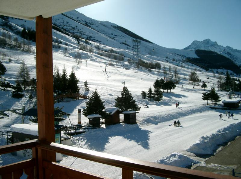 View from the property Location Apartment 26960 Les 2 Alpes