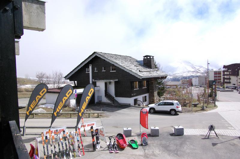 View from the balcony Location Apartment 27 Alpe d'Huez
