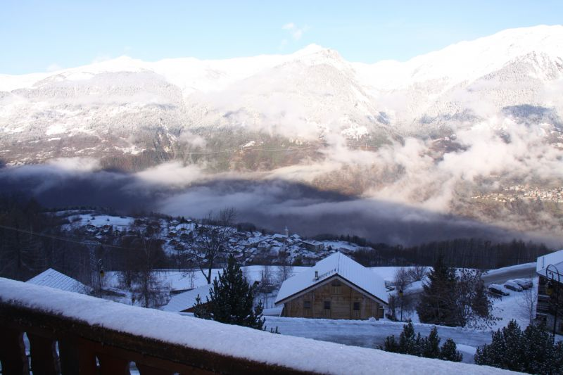 View from terrace Location Chalet 27113 La Plagne
