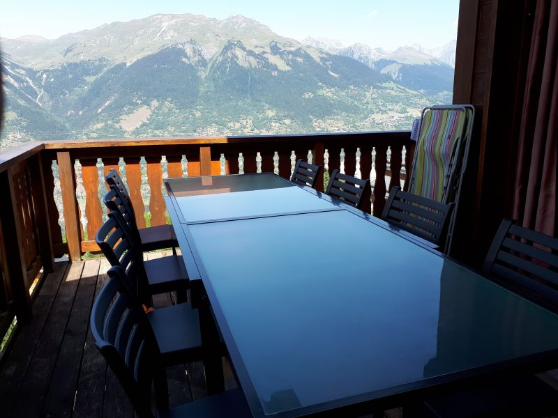Terrace Location Chalet 27113 La Plagne