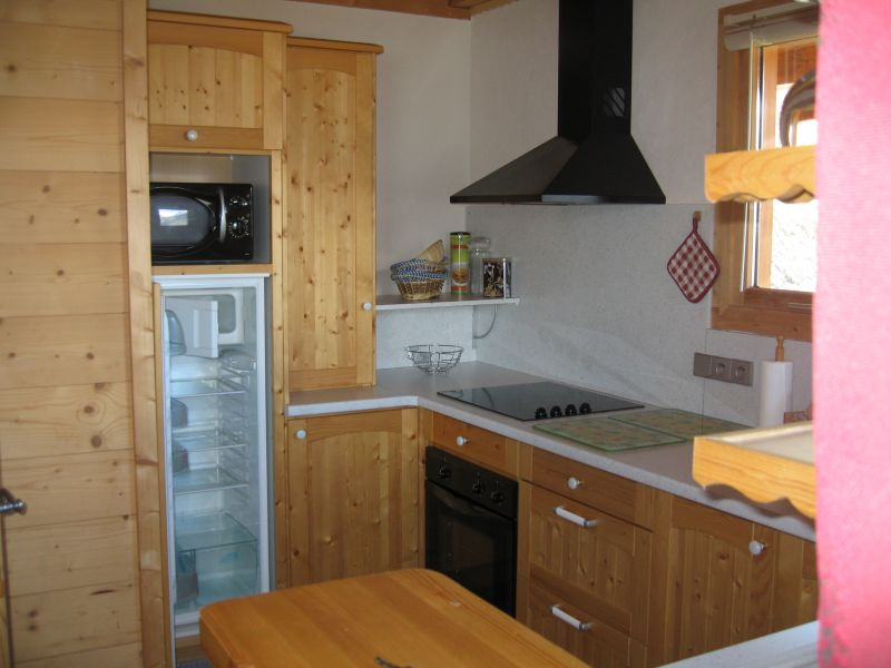 Open-plan kitchen Location Chalet 27113 La Plagne
