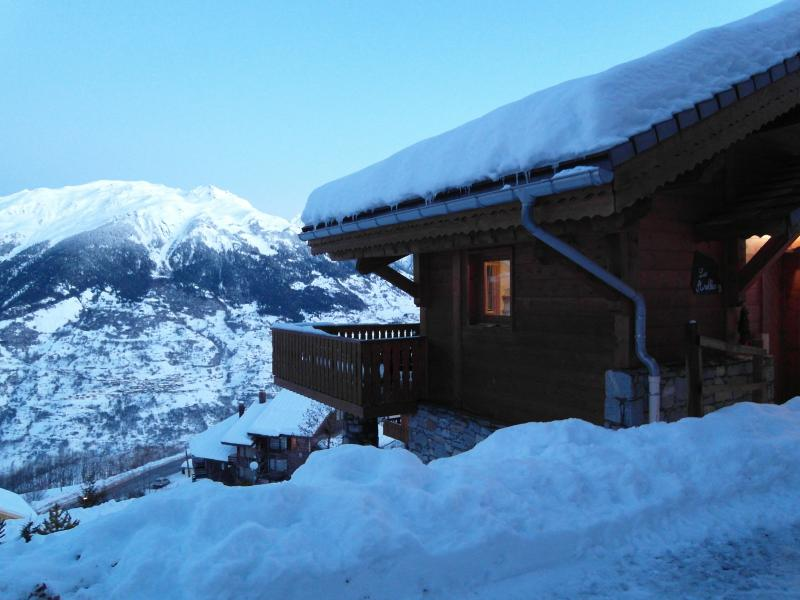 Outside view Location Chalet 27113 La Plagne