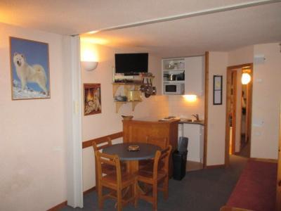 Open-plan kitchen Location Studio apartment 27285 La Plagne