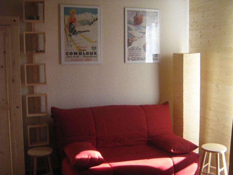 Living room Location Studio apartment 28115 Orcières Merlette