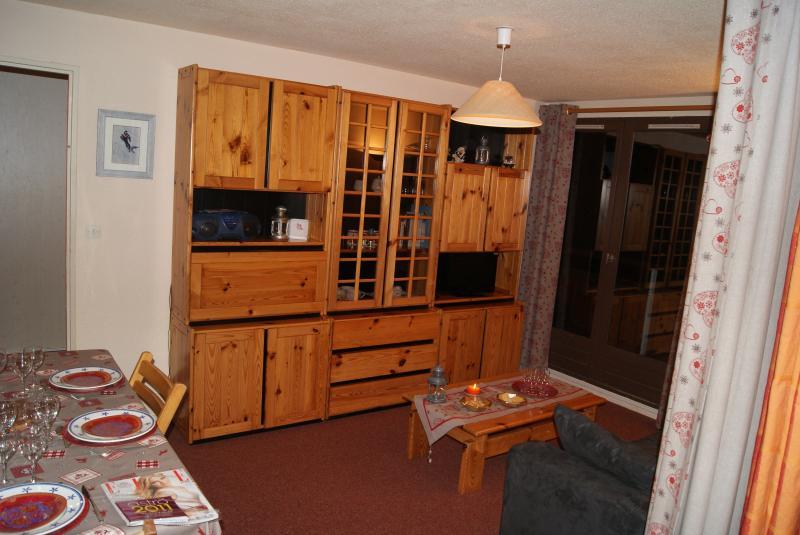 Living room Location Apartment 2813 Les Sept Laux