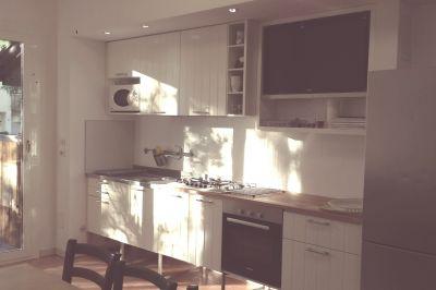 Open-plan kitchen Location Apartment 31420 Bellaria Igea Marina