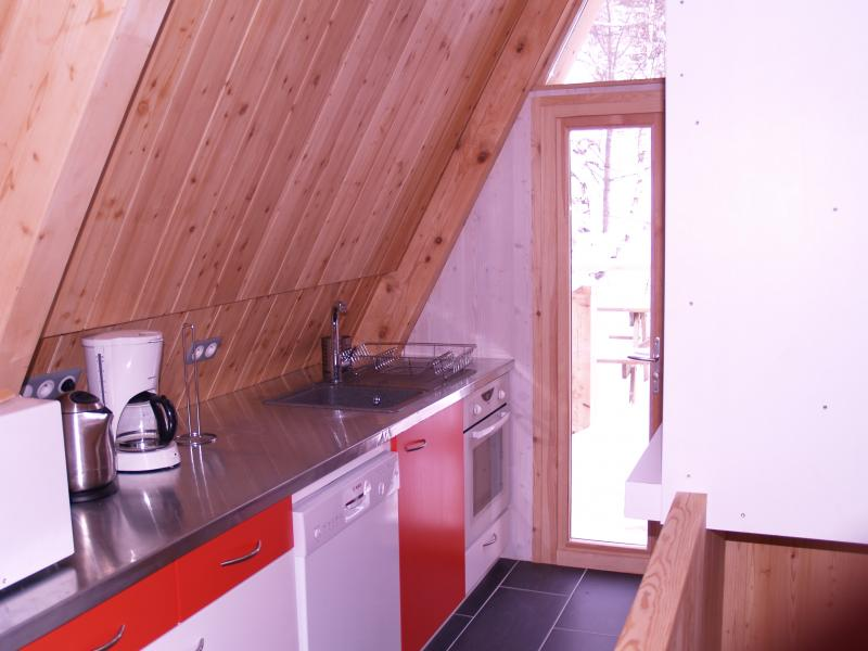 Open-plan kitchen Location Chalet 320 Les Arcs
