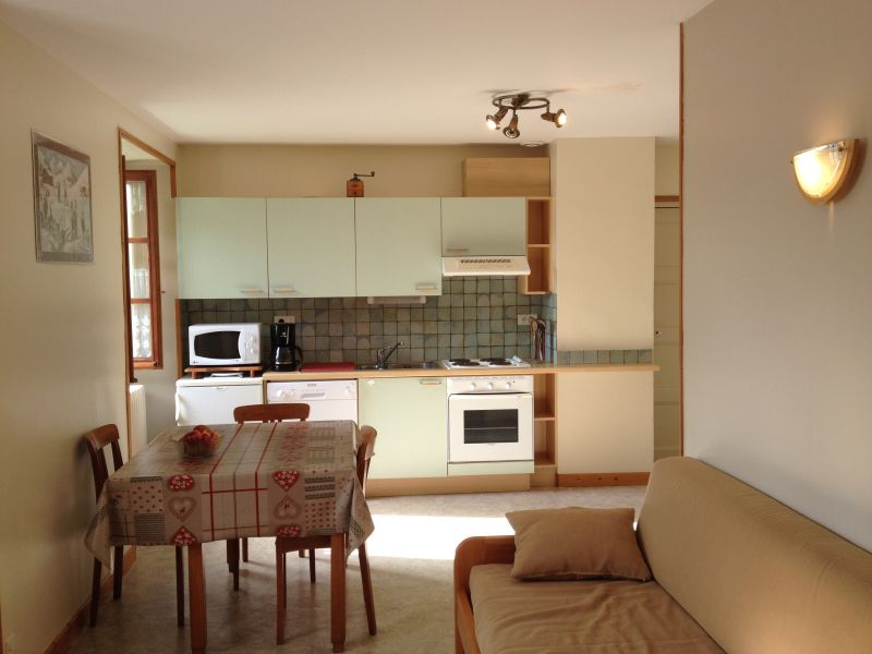 Open-plan kitchen Location Apartment 3250 Val Cenis