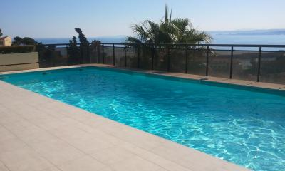 Swimming pool Location Apartment 32914 Nice