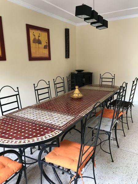 Dining room Location Villa 33283 Casablanca