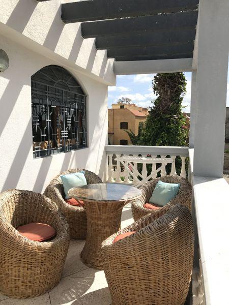 View from the balcony Location Villa 33283 Casablanca
