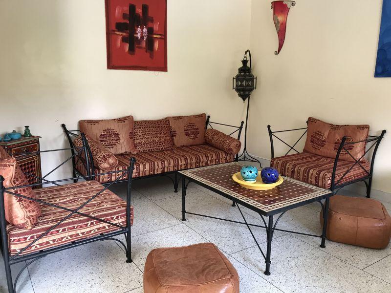 Living room Location Villa 33283 Casablanca
