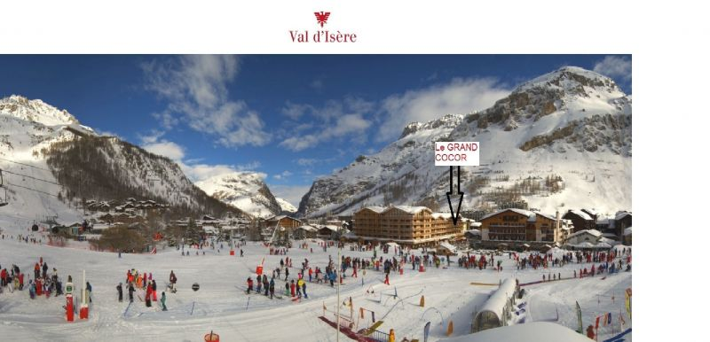 Surroundings Location Apartment 3359 Val d'Isère