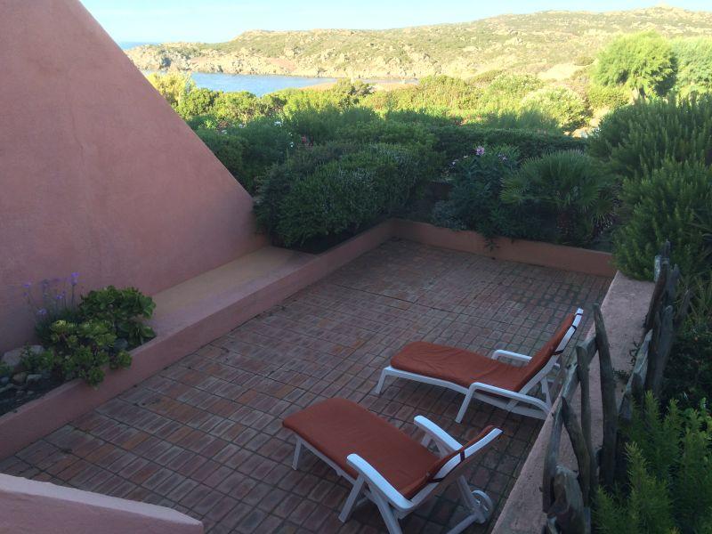 View from the balcony Location Apartment 33793 Santa Teresa di Gallura