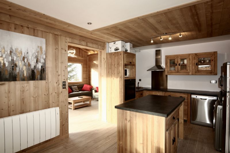 Open-plan kitchen Location Chalet 33878 Les 2 Alpes