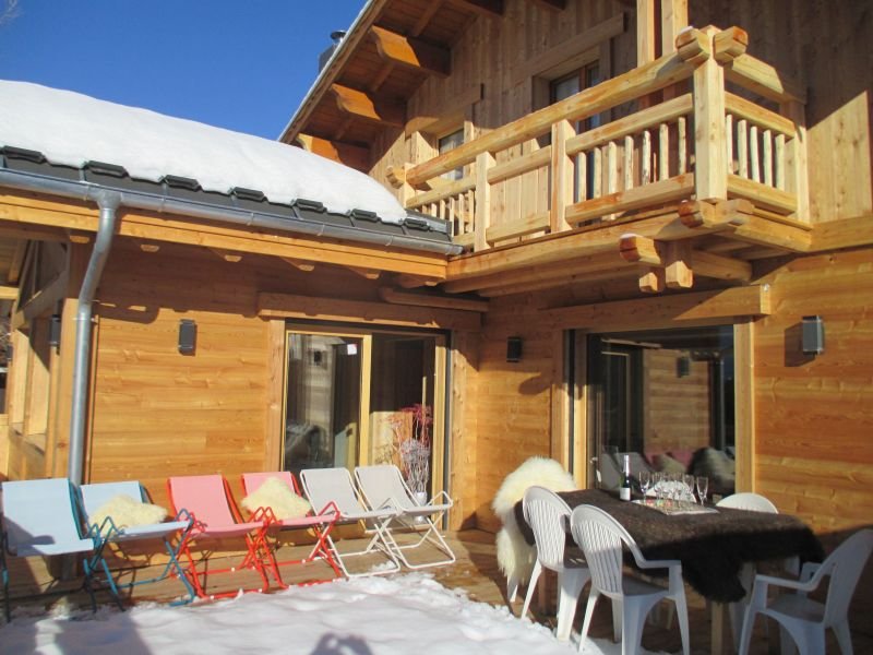 Terrace Location Chalet 33878 Les 2 Alpes