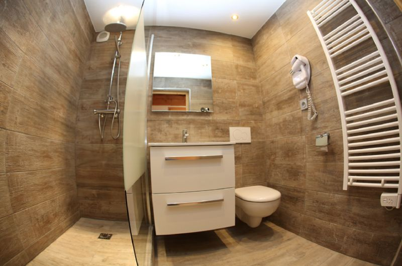 Washing facilities Location Apartment 3411 Valloire