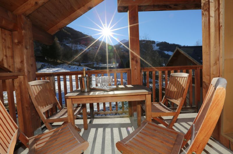Balcony Location Apartment 3411 Valloire