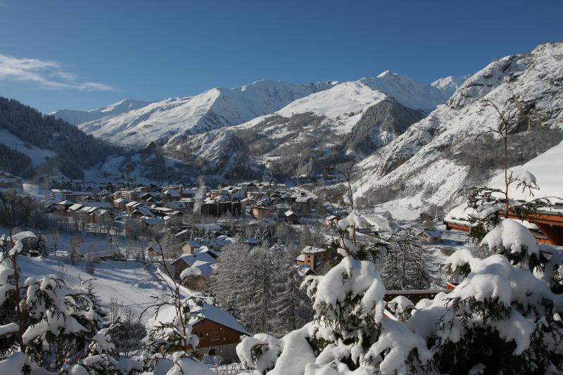 View from the balcony Location Apartment 3411 Valloire