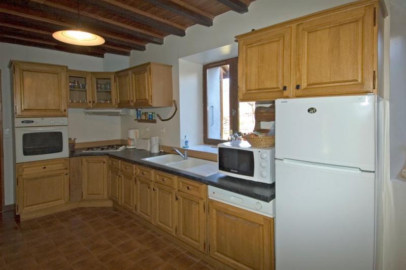 Open-plan kitchen 1 Location House 371 Auris en Oisans
