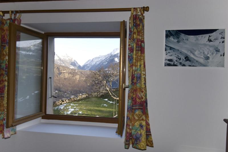 View from the property Location House 371 Auris en Oisans