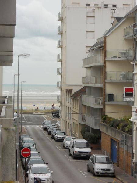 View from the balcony Location Studio apartment 38630 Le Touquet